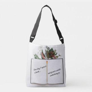 Inspirational Literature Cross-body Tote Bag
