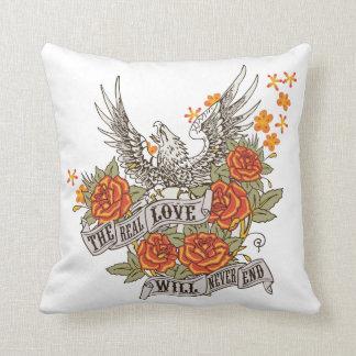 Inspirational Love Eagle Pillow