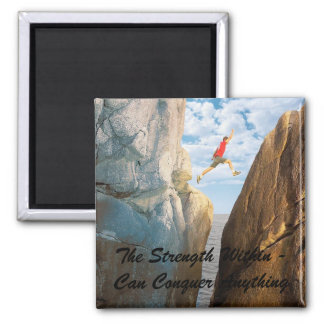 Inspirational Magnet - Strength - Customized