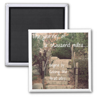 Inspirational Magnet - The Journey Moving Forward