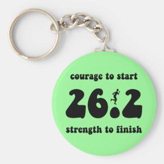 Inspirational marathon keychains