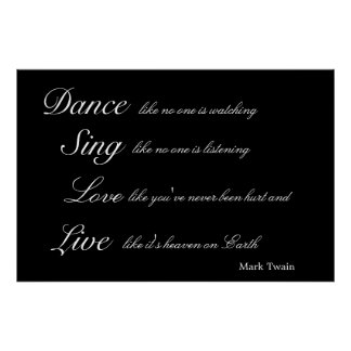 Inspirational Mark Twain Poster Art Print