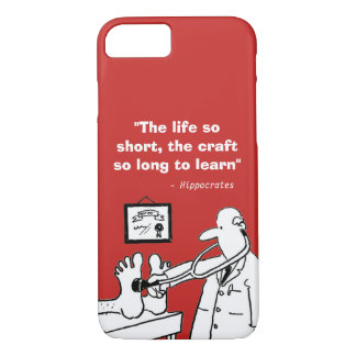 Inspirational Medical Quote and Funny Image Case-Mate iPhone Case