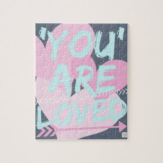 Inspirational message jigsaw..Cute gift..Loved Jigsaw Puzzle