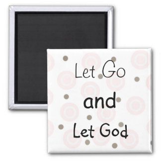 Inspirational Message Square Magnet