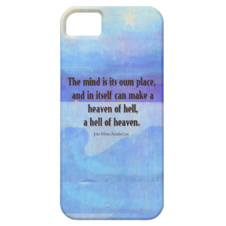 Inspirational Milton quote Paradise Lost Case For The iPhone 5