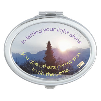 Inspirational Mirror - Shine Compact Mirrors