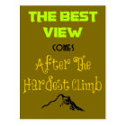 Inspirational Motivating Quote Typography Postcard