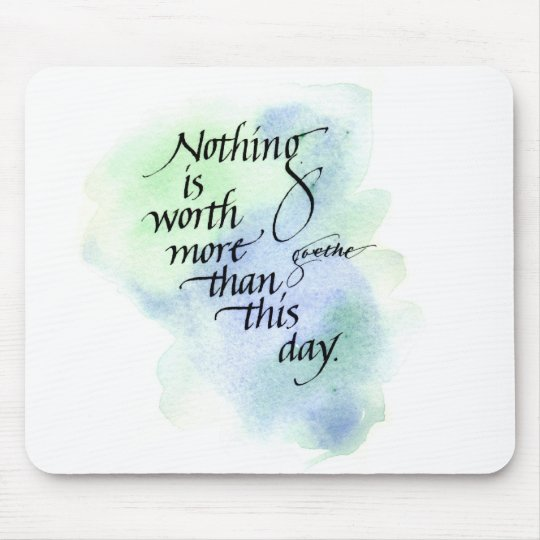 Inspirational mouse pad
