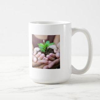 Inspirational Mug, Bloom Where Planted Coffee Mug