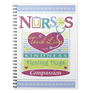 Inspirational Notebook design for Nurses