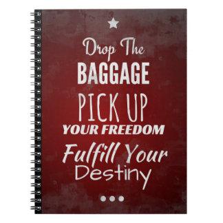 Inspirational Notebook for Motivation