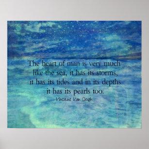 Storm In Life Quotes Art Wall Décor Zazzleca