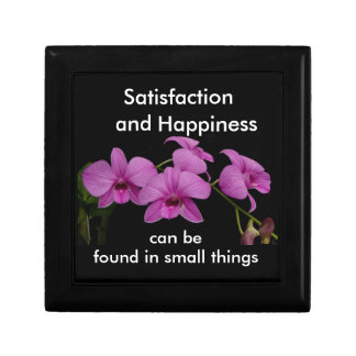 Inspirational Orchid keepsake box