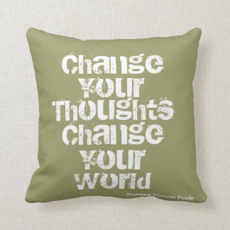 Inspirational pillow