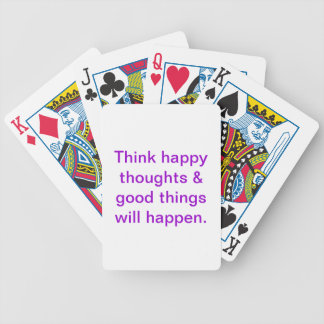Inspirational playing cards