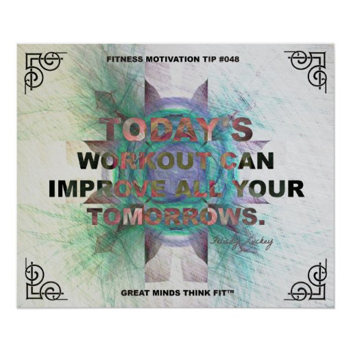 Inspirational Poster for Fitness Quote #048