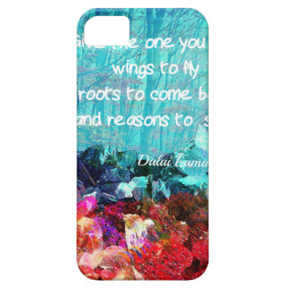 Inspirational quote among corals iPhone 5 cover