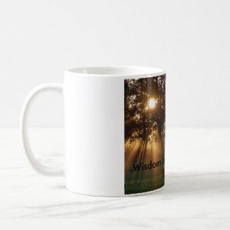 inspirational quote and photo coffee mug
