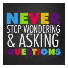 Inspirational Quote Classroom School Poster