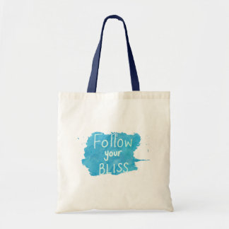 Inspirational Quote: Follow Your Bliss Bag