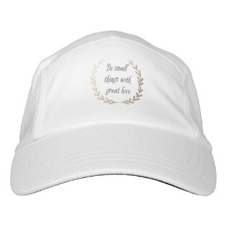 Inspirational Quote Hat