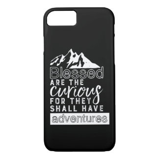 Inspirational Quote Hiking Travel and Adventures iPhone 8/7 Case