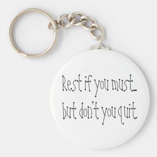 Inspirational quote keychains perseverance gifts
