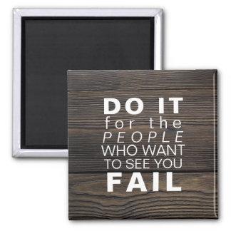 Inspirational Quote | Motivational Goals Success Magnet