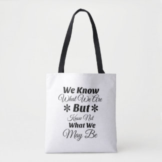 Inspirational Quote Tote