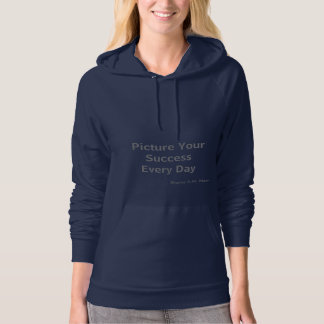 Inspirational Quotes Fleece Pullover