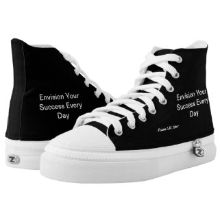 Inspirational Quotes High Top Shoes