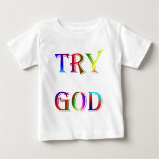 INSPIRATIONAL RELIGION FAITH BABY T-Shirt