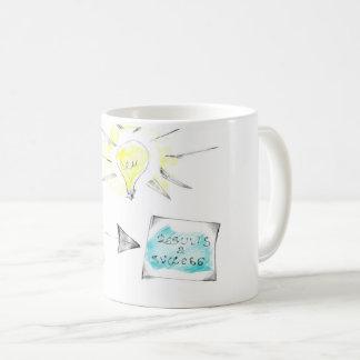 Inspirational Sketch on Coffee Mug