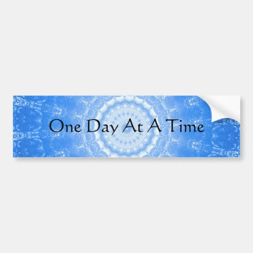 inspirational spiritual quote one day at a time car
