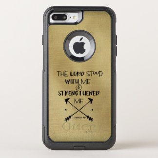 Inspirational Strength Bible Verse OtterBox Commuter iPhone 8 Plus/7 Plus Case