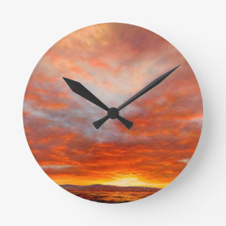 Inspirational Sunrise Clock