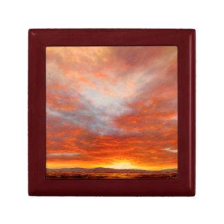 Inspirational Sunrise Keepsake Box