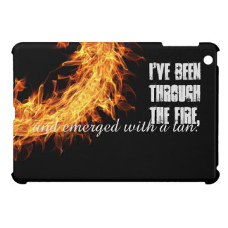 Inspirational survivor message iPad mini case
