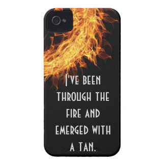 Inspirational survivor message iPhone 4 covers