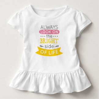 Inspirational The Bright Side of Life | Ruffle Tee