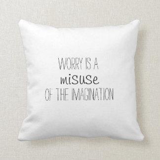 inspirational throw pillow