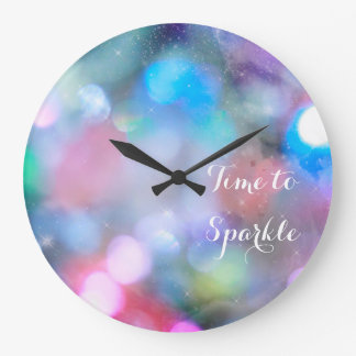 Inspirational Time To Sparkle Wall Clock