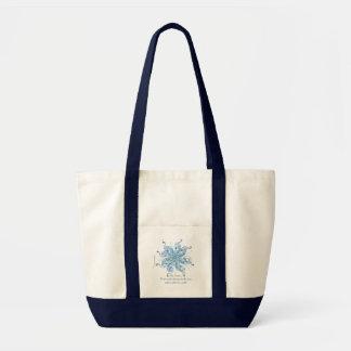 "Inspirational Tote Bag- ""Self Acceptance"""