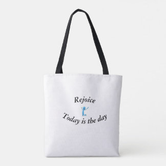Inspirational Tote, tote with encouragement quote,