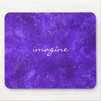 Inspirational ultra violet mousepad