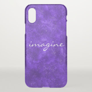 Inspirational ultra violet space phone case