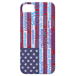 Inspirational Unite American Flag Cell Phone Case