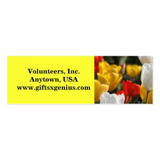 Inspirational Volunteer Appreciation Gift Business Card Template