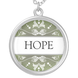 Inspirational Word - HOPE Pendant